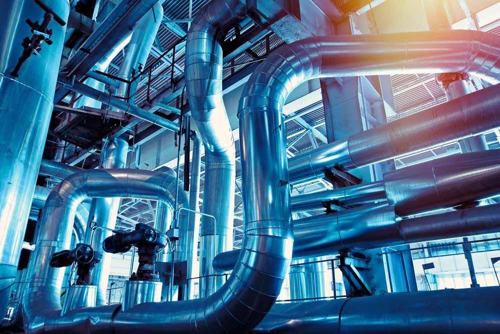 fontanería industrial